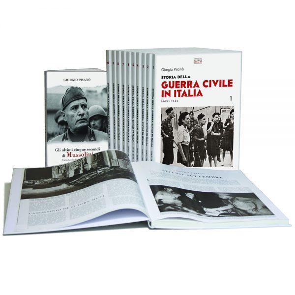 Storia della guerra civile in Italia vol 1 + Gli ultimi 5 secondi di Mussolini